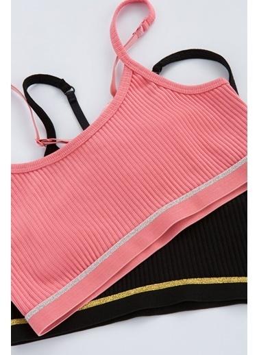 Penti Çok Renkli Teen Rib X-Back 2Li Yarım Atlet Renkli